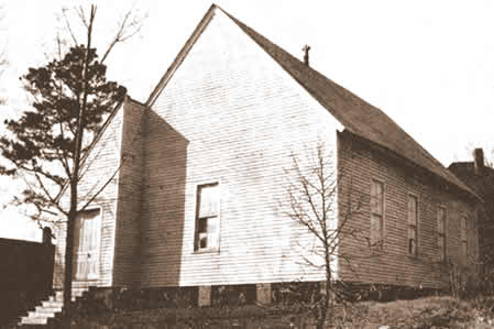 McGill old church on Beattie's Ford Street 1902-1909