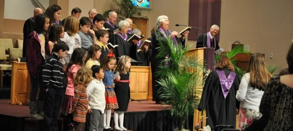 choir and children