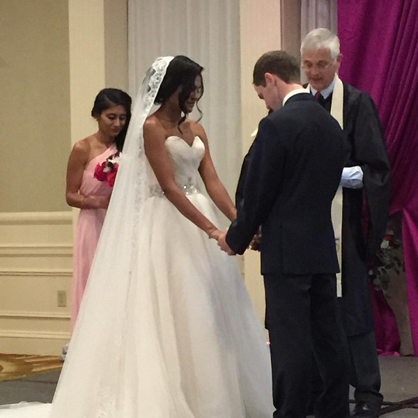 Justin Pressley and his new bride Krina were married this weekend!